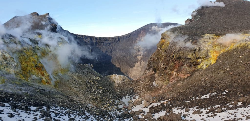 cratere nord est etna