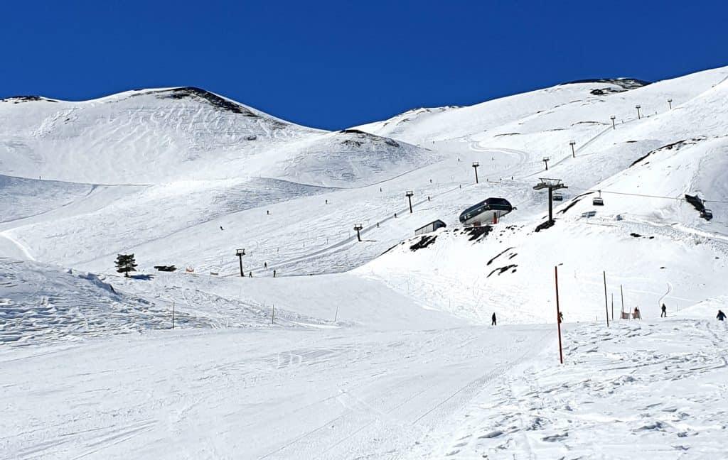 Etna Nord - Piano Provenzana - pista di sci