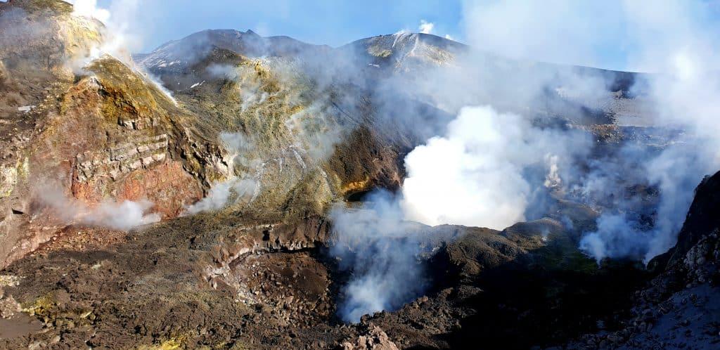 Etna top cratere - Nord Est