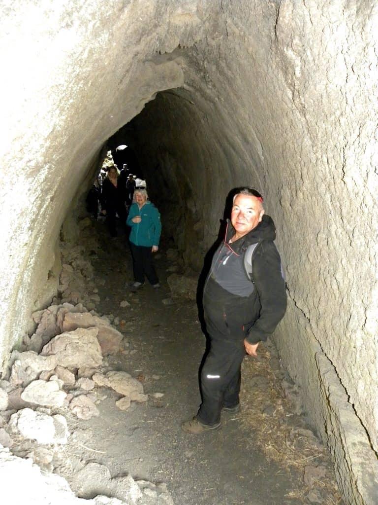 Grotta del corruccio Etna Nord