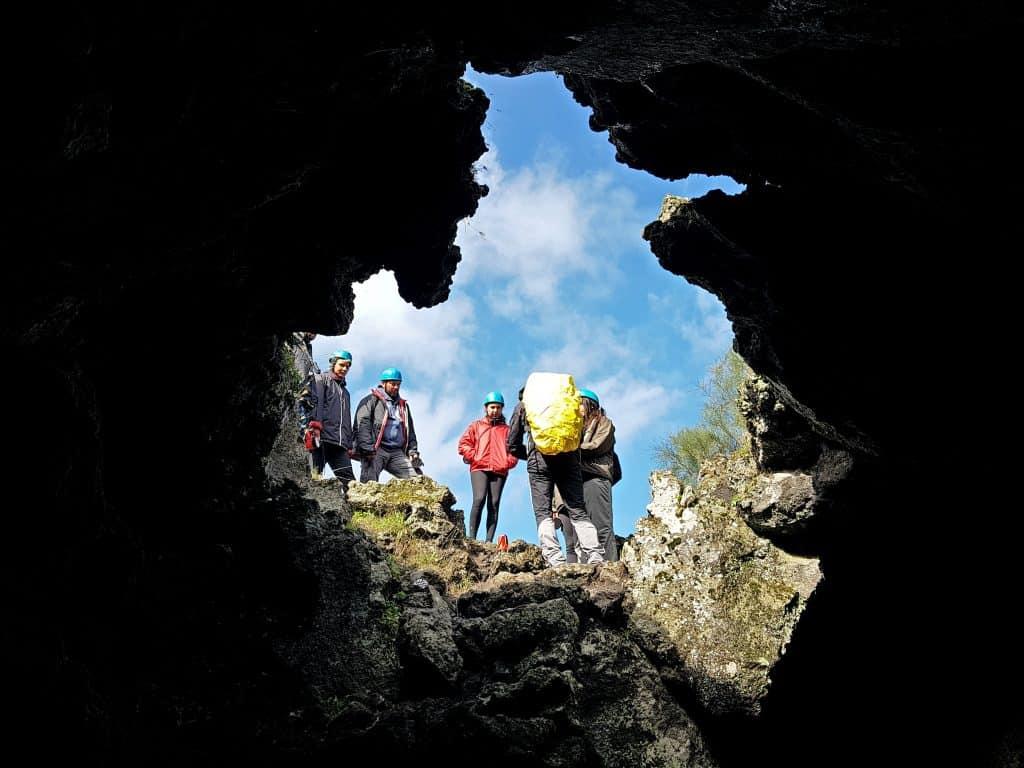 Grotta del corruccio trekking