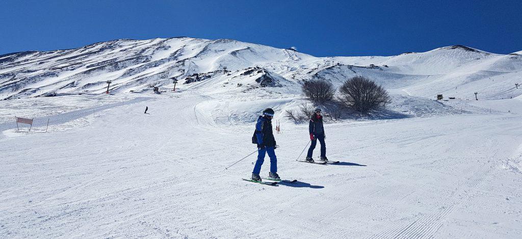 impianti sci etna sciare