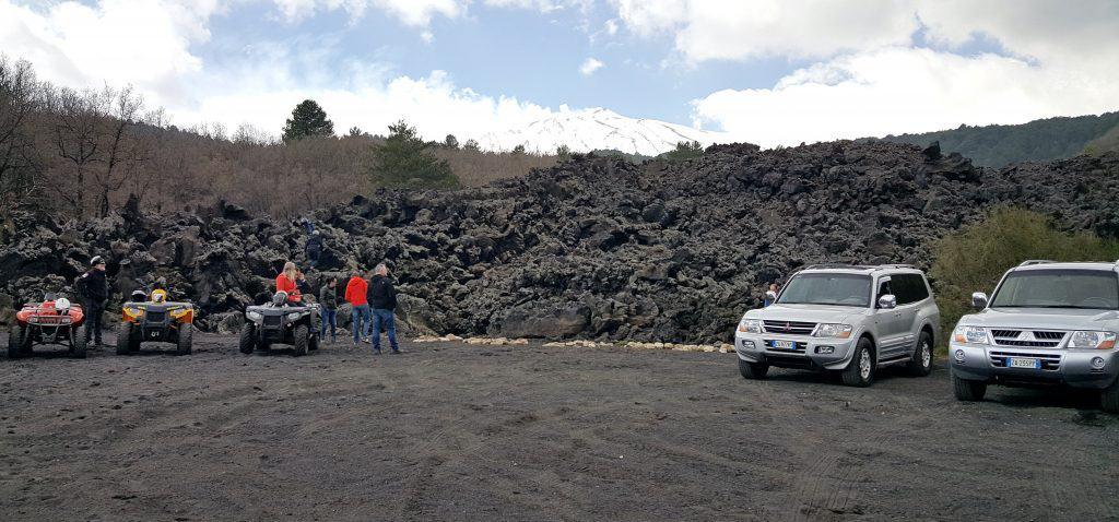 Jeep quad tour Etna