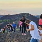 monti sartorius tramonto trekking