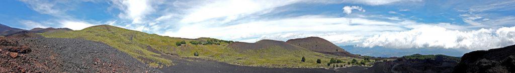 Natura lava - Etna Nord - panorama