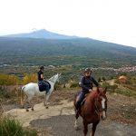 Passeggiata a cavallo - Linguaglossa Etna