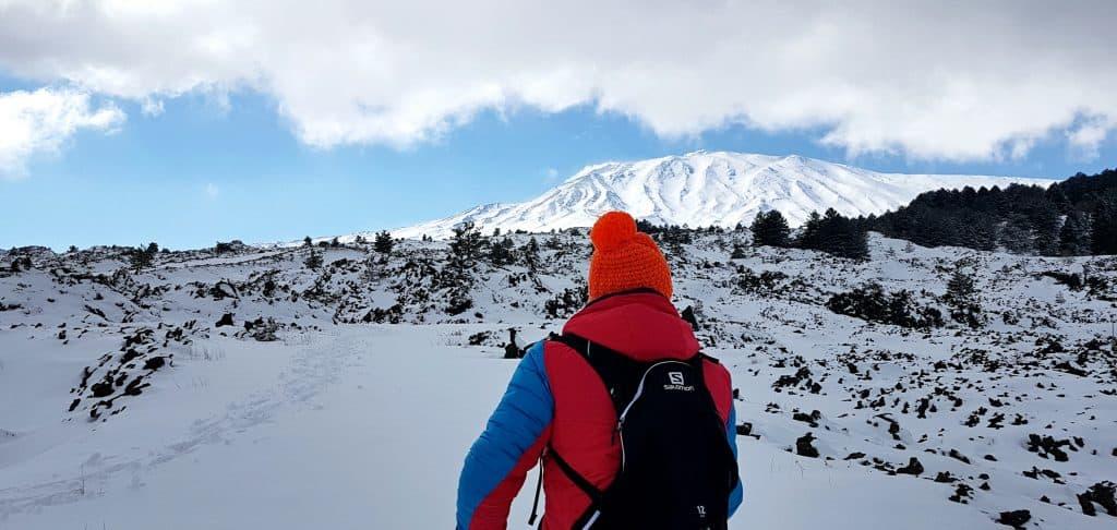 Passeggiata neve - Grotta dei Rotoli