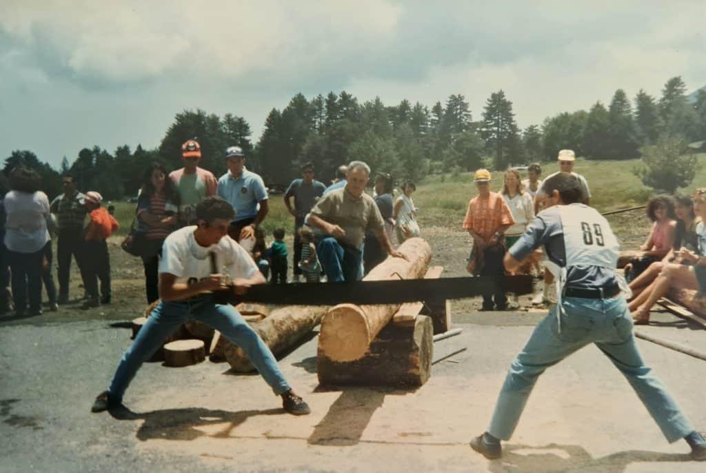 Pentathlon del boscaiolo Piano Provenzana