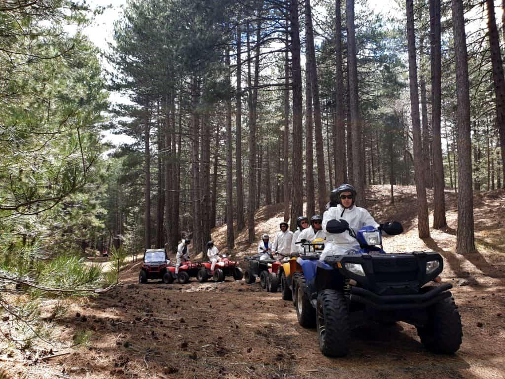 Quad tour gruppo Etna Nord Bosco Ragabo
