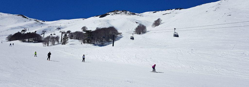 sciare piste di sci etna
