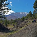 Trekking lava 2002 - Etna Nord