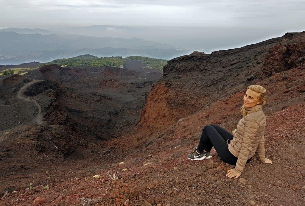 vista punto panoramico crateri 2002 etna