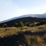 vulcano etna da monte nero