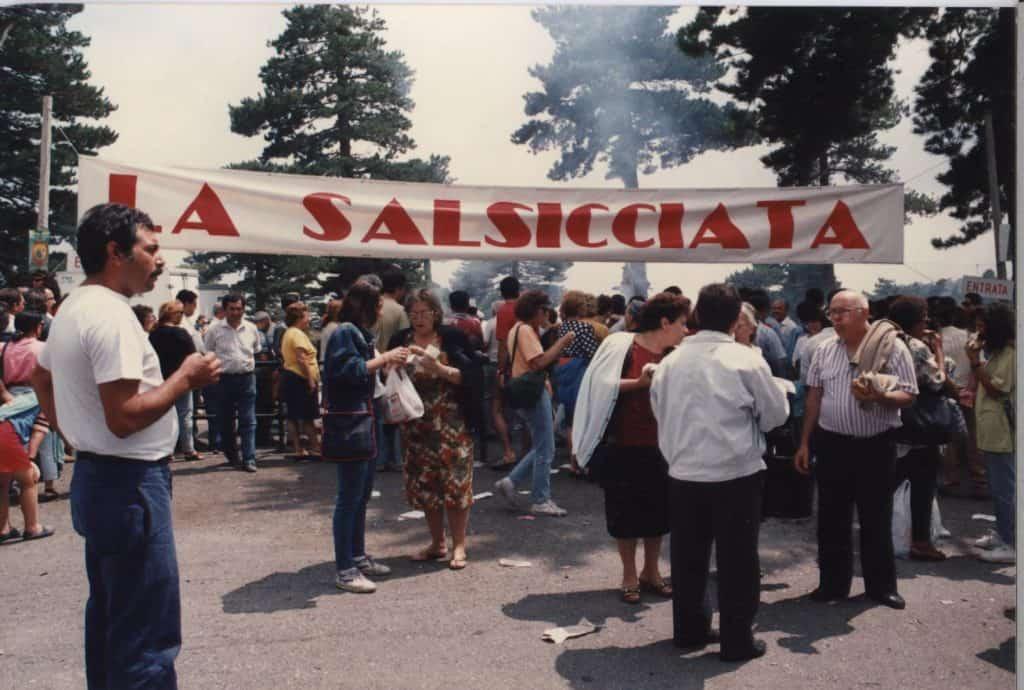 Salsicciata festa dell etna piano provenzana