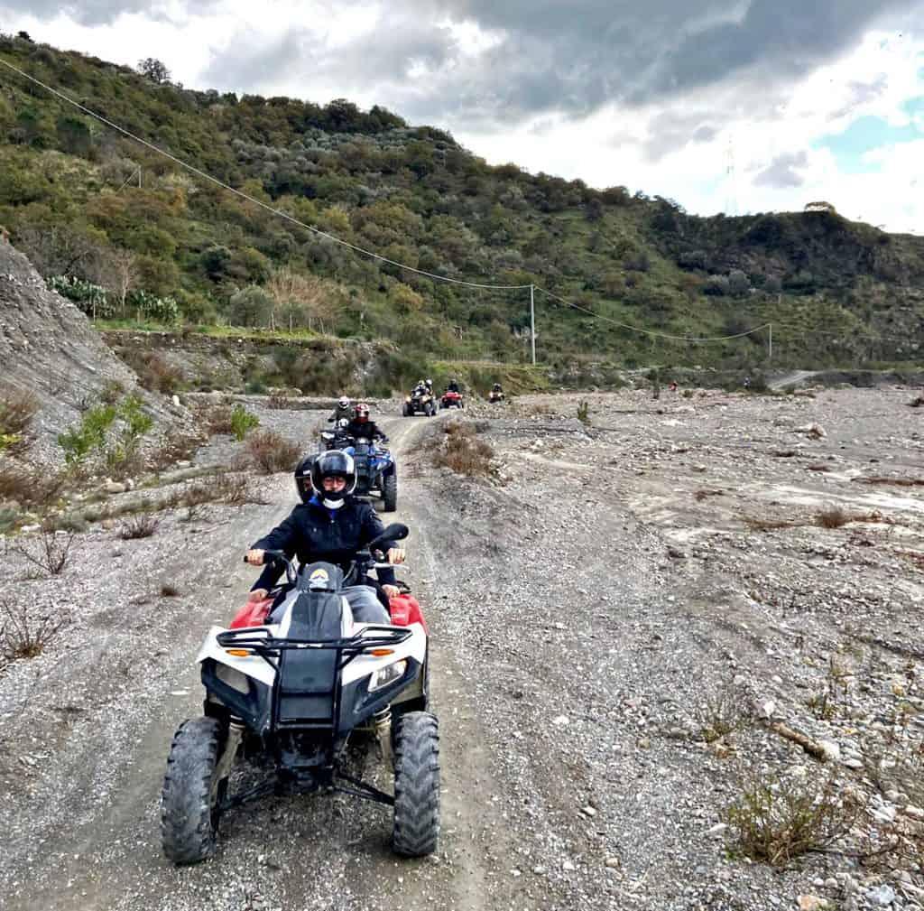 alcantara quad tour fiume sicilia