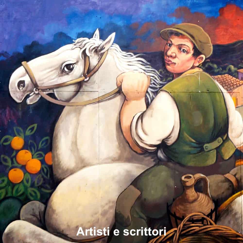 artisti e scrittori etna