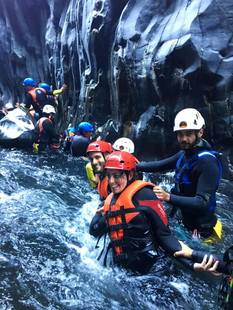 body rafting fiume alcantara