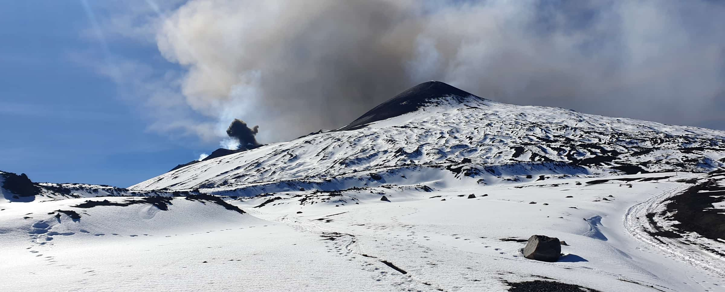 cratere nord e sudest etna