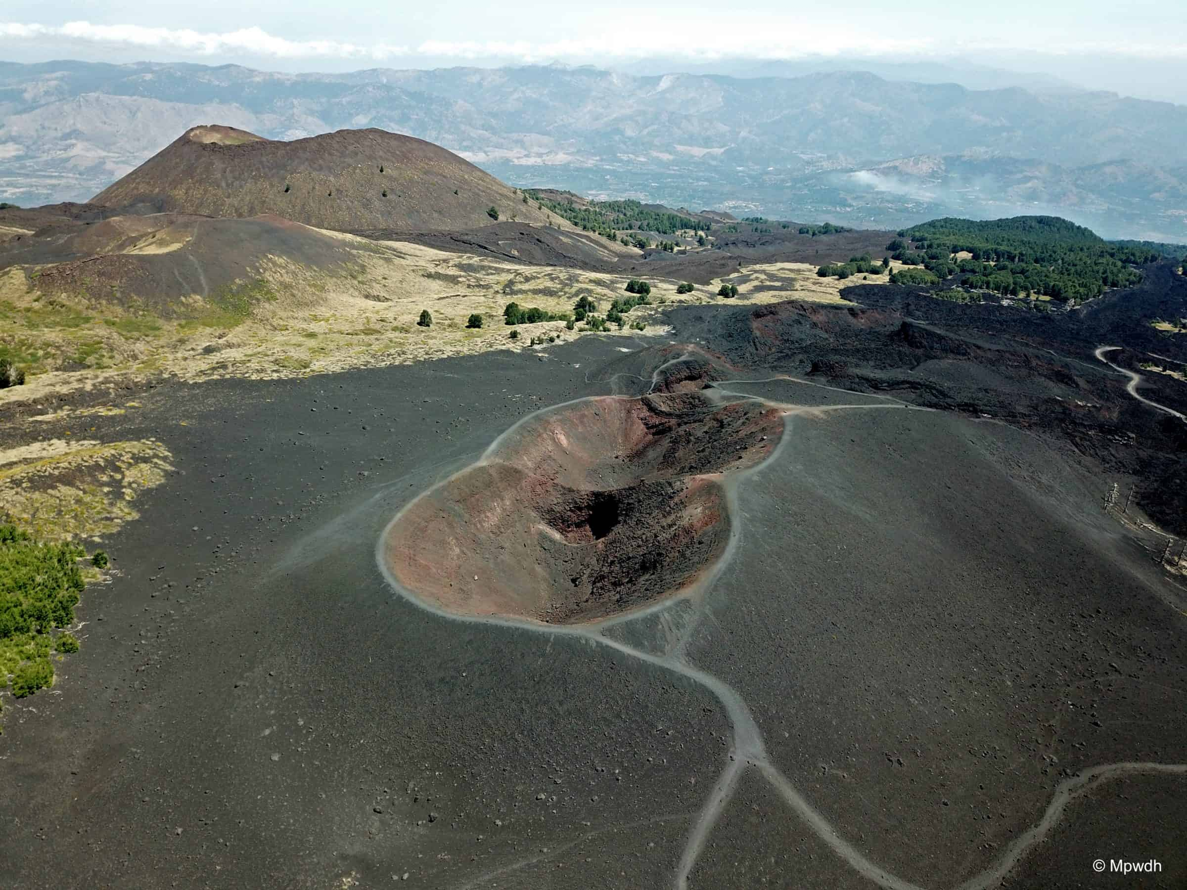 Crateri 2002 vulcano Etna