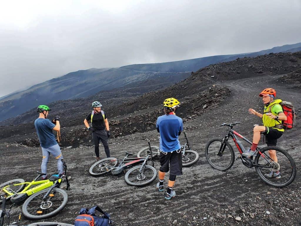 e bike tour crateri sommitali etna