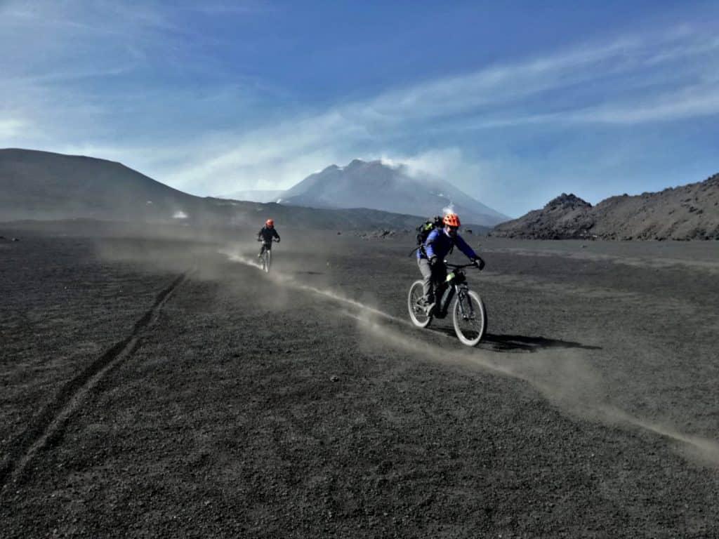 e bike vulcano etna