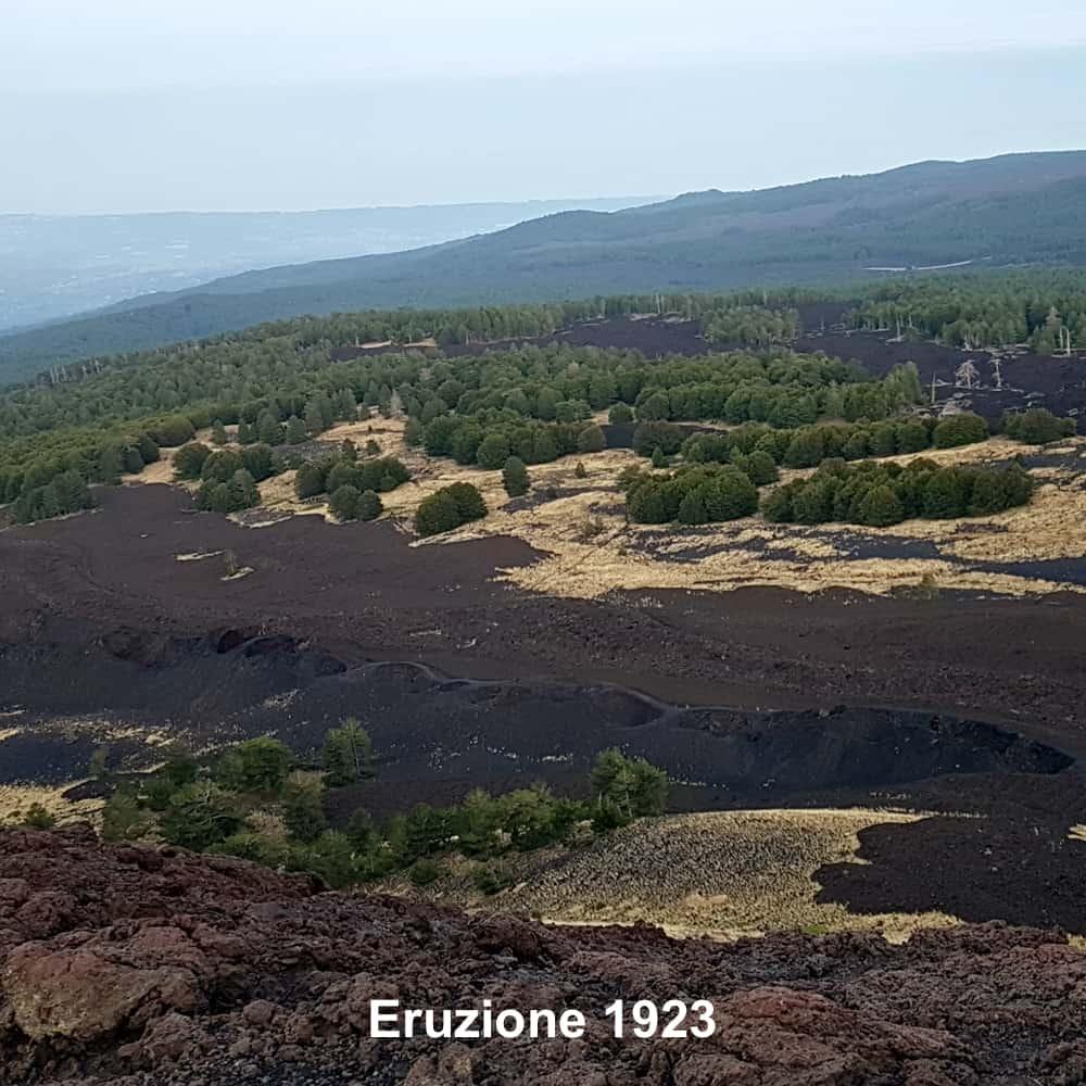 Eruzione 1923 Etna