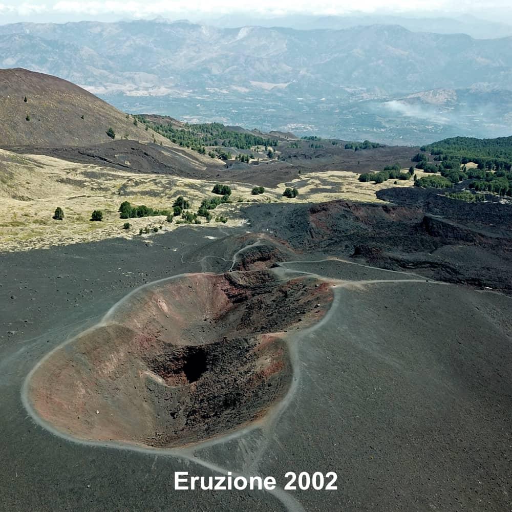 Eruzione 2002 - crateri