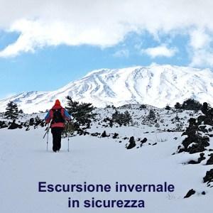 escursione invernale sicurezza