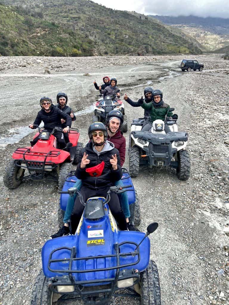 fiume alcantara quad tour