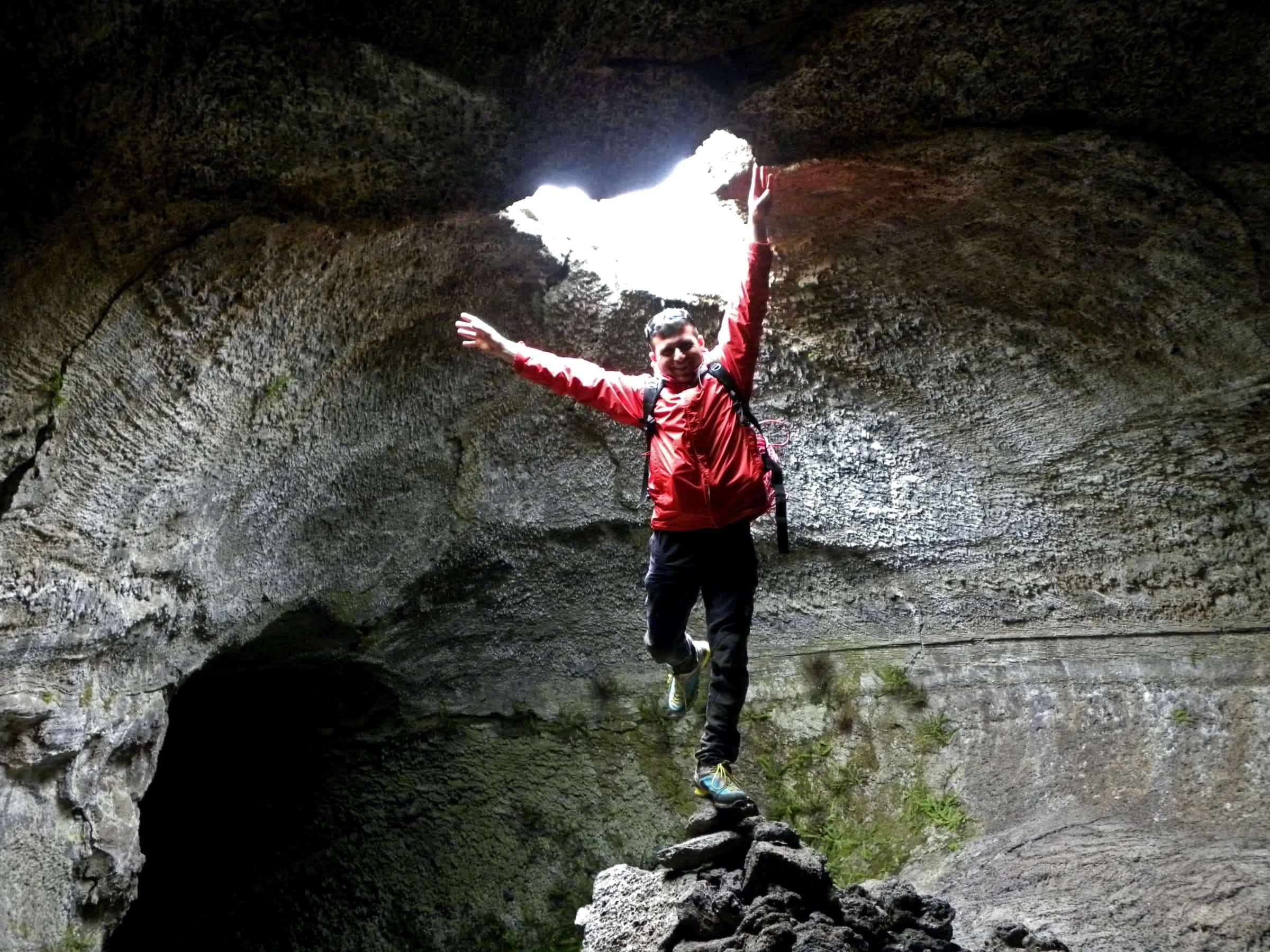 grotta dei lamponi interno