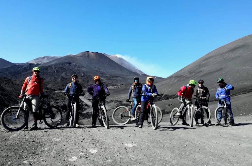 gruppo e bike tour etna