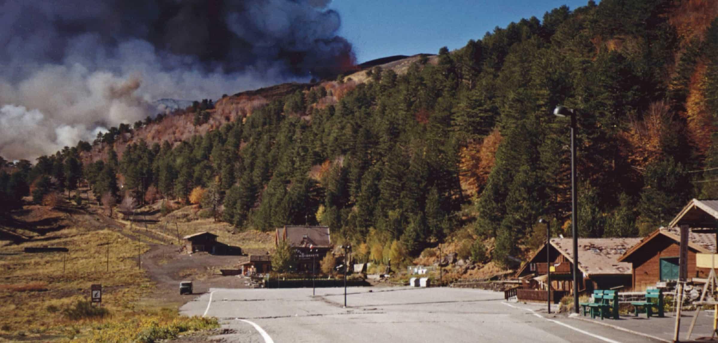 inizio eruzione 2002 piano provenzana