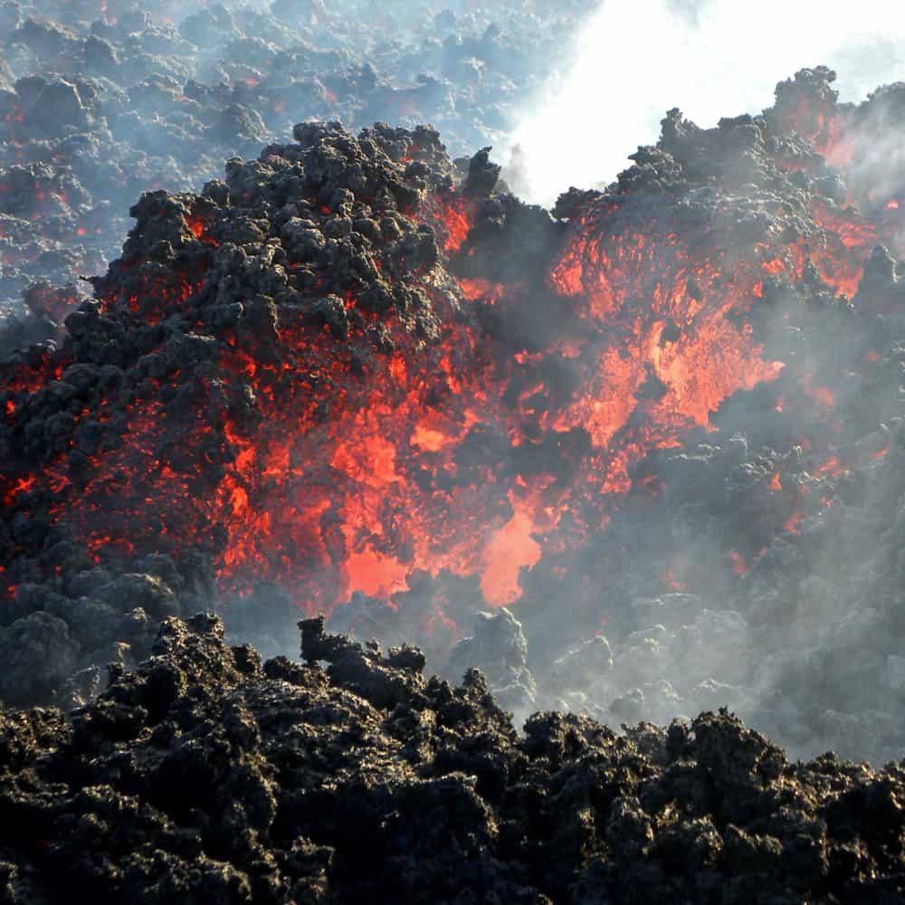 Lava dell'Etna