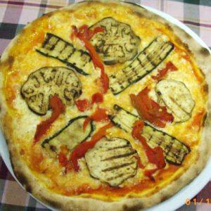 pizza vegetariana sole neve