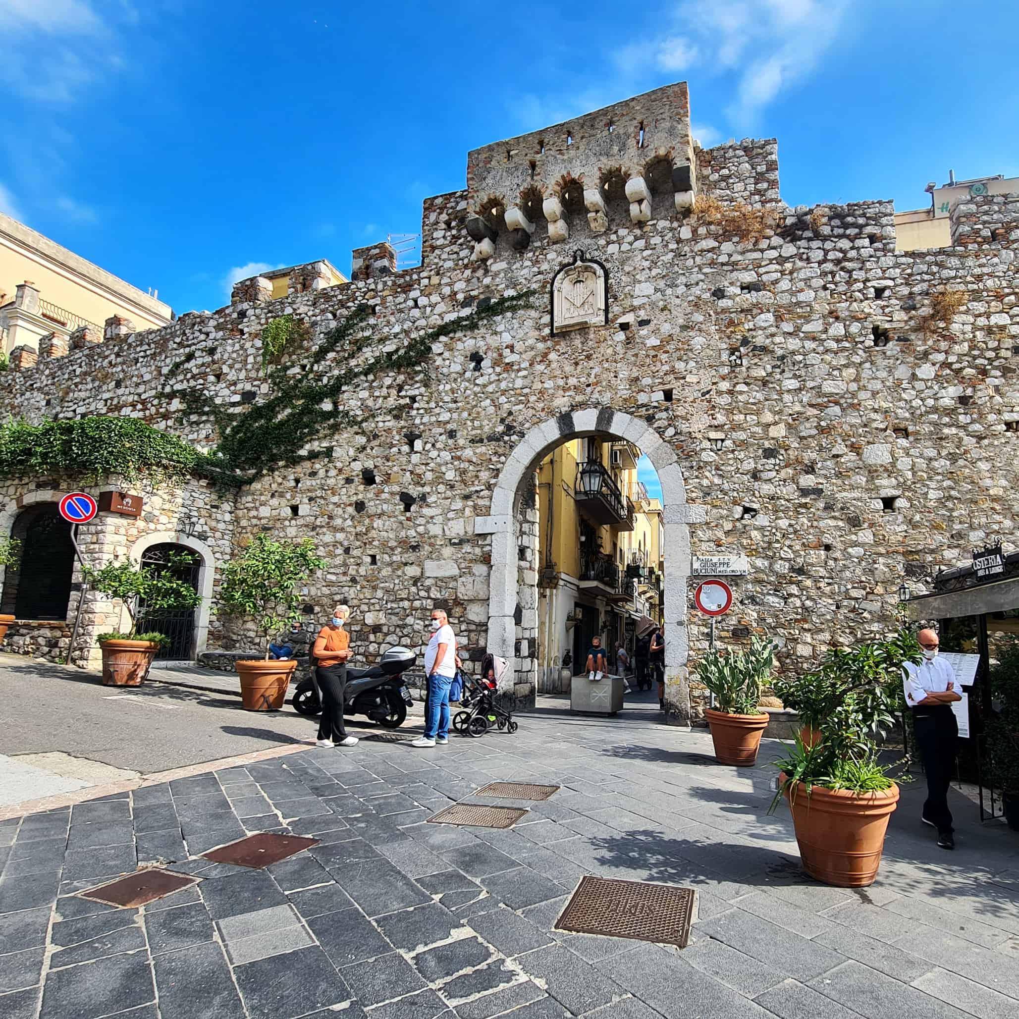 Porta Catania - Taormina