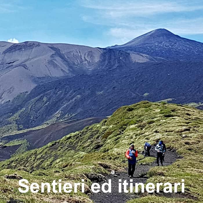 sentieri ed itinerari etna