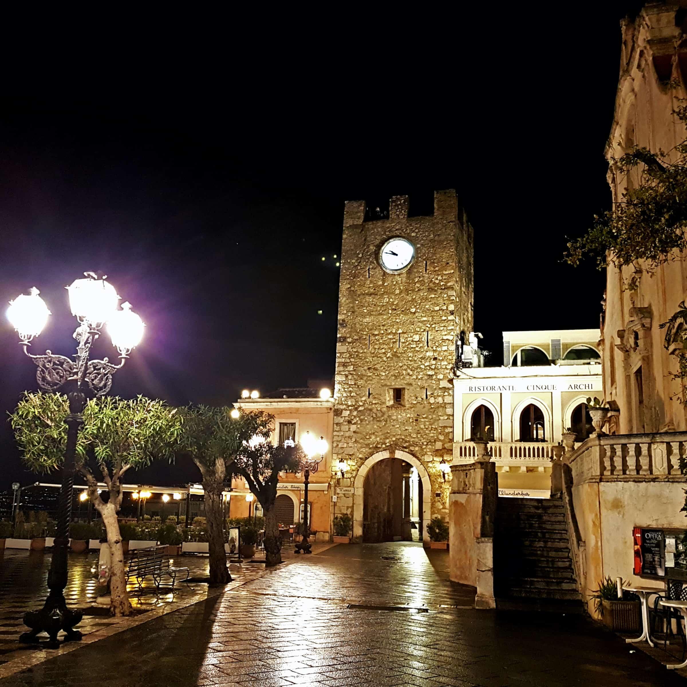 Taormina di sera