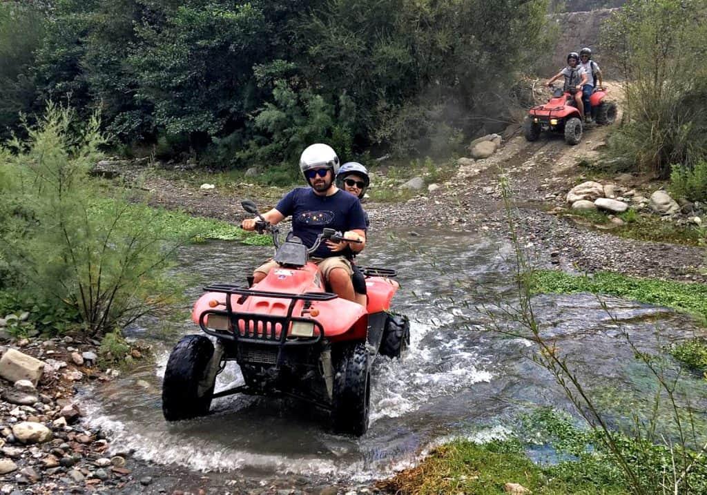 valle alcantara quad escursione