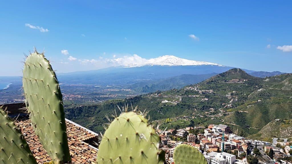 Vista Etna da Castelmola