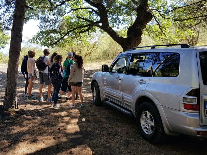 Jeep tour Gruppi