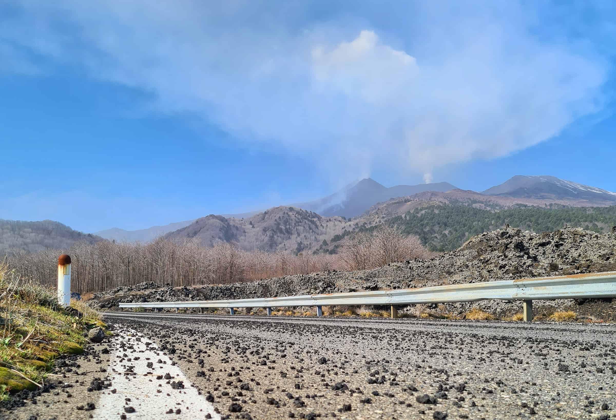 lapili etna eruzione