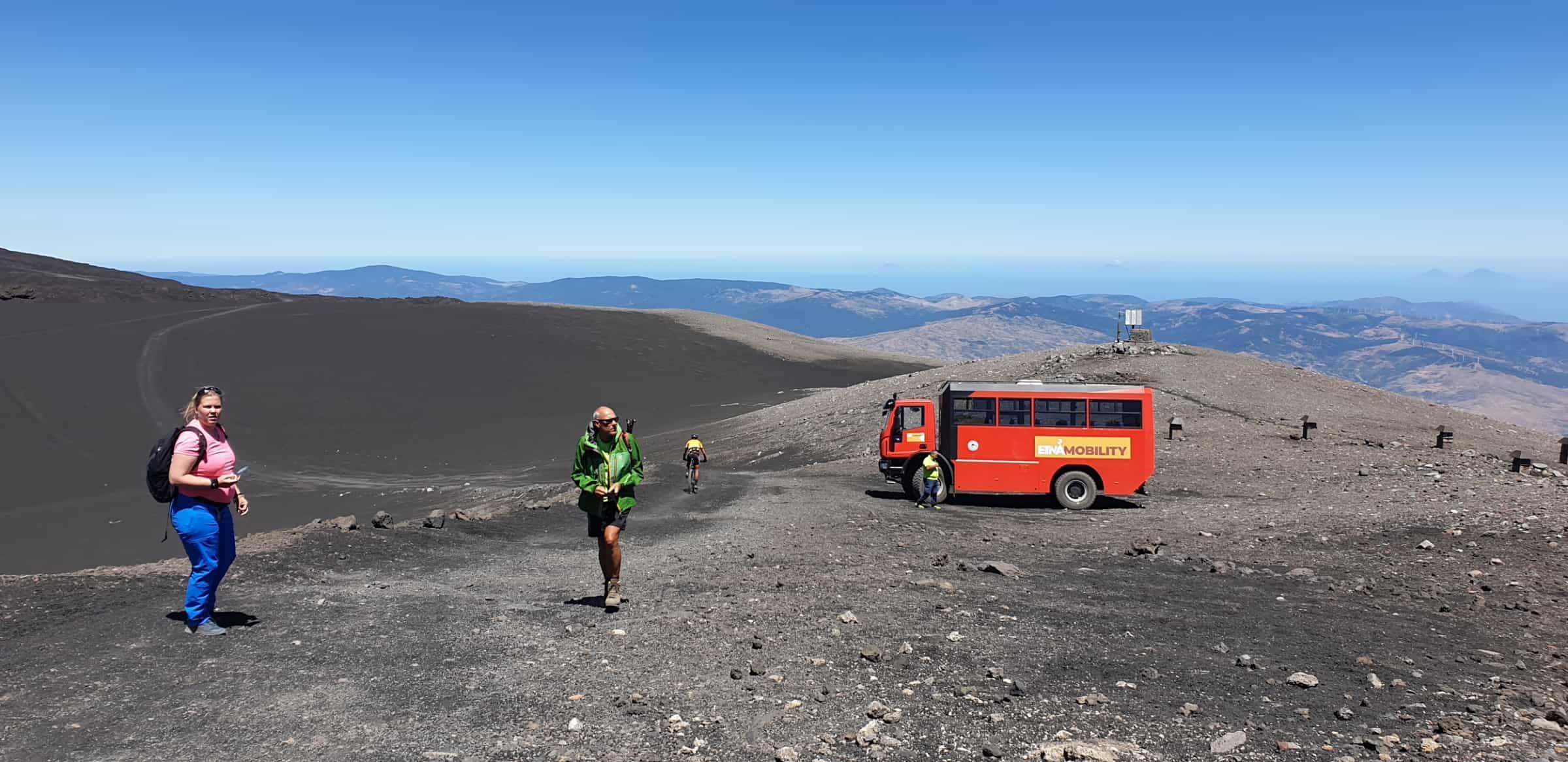 etna escursione trekking 2800m