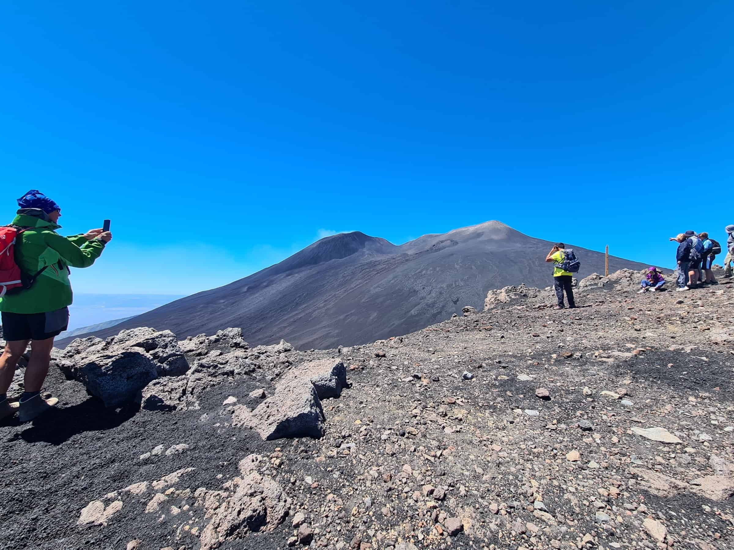 top crateri etna da 2800m